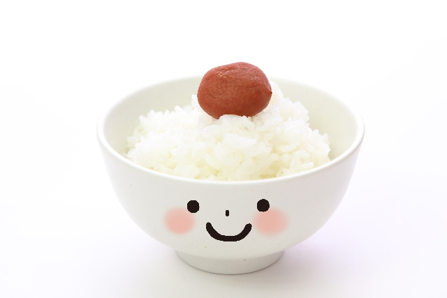 Japanese are made of rice